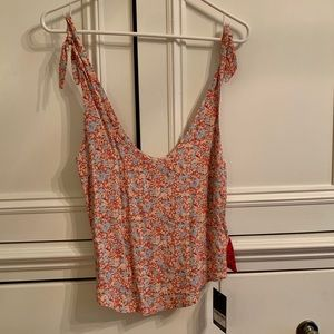 Reformation NWT Tie tank top size XS